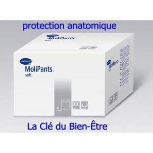 Protection anatomique slip de fixation Molipants soft Hartmann Taille L