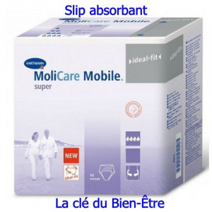 Slip absorbant Hartmann Molicare Mobile Super