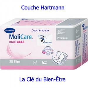 Couche adulte Hartmann Molicare Premium Soft Maxi.