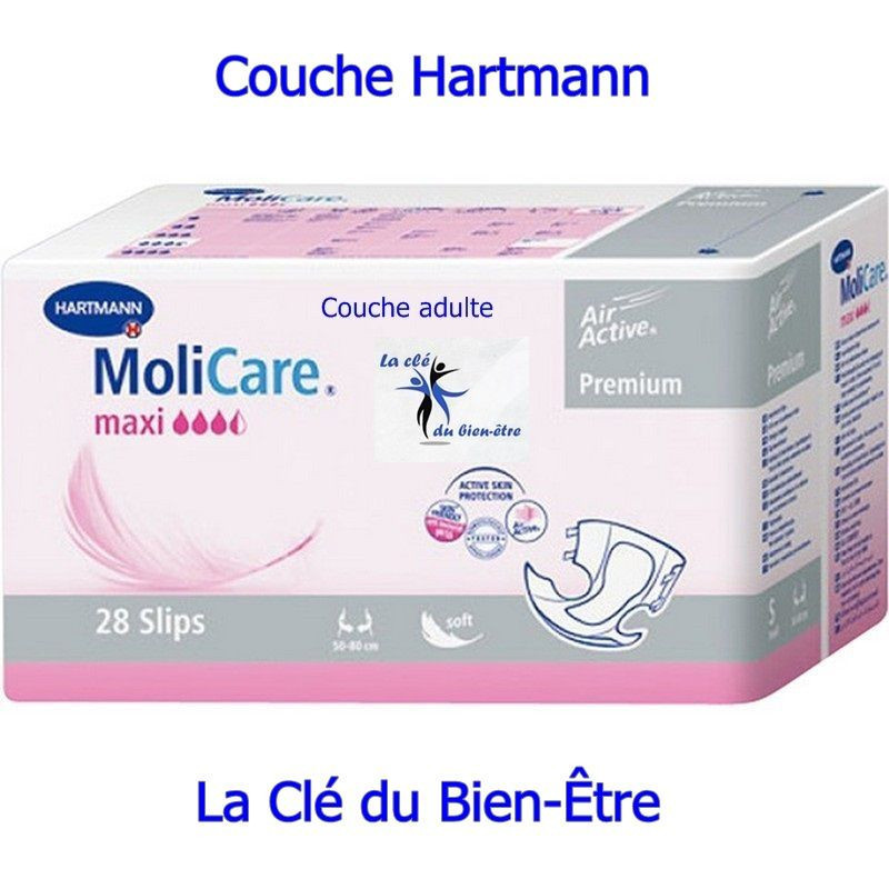 couche adulte hartmann molicare premium soft maxi On couche adulte prix