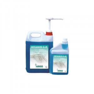 Détergents pré-désinfectant Hexanios G + R