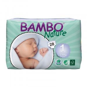 Couche bébé Bambo nature T1