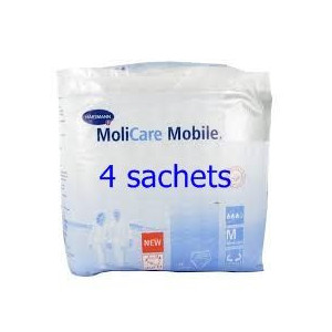 Molicare mobile slip absorbant 4 sachets de 14 T2