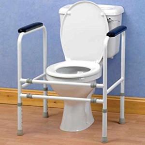 Homecraft cadre de toilettes ajustable