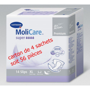 Lot Molicare mobile XL 4 sachets de 14