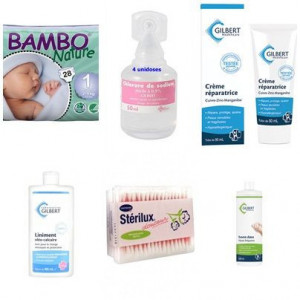 Pack bambo nature new born T1 2 à 4 kg