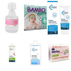 Pack bambo nature mini T2 3 à 6 kg