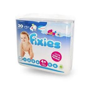 Couches Fixies Maxi + 9-20 kg 120 pièces