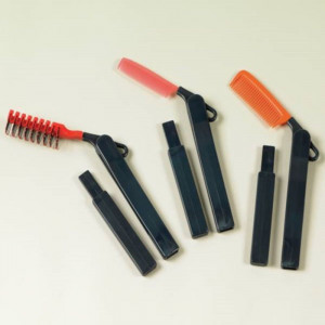 Brosse a cheveux a long manche