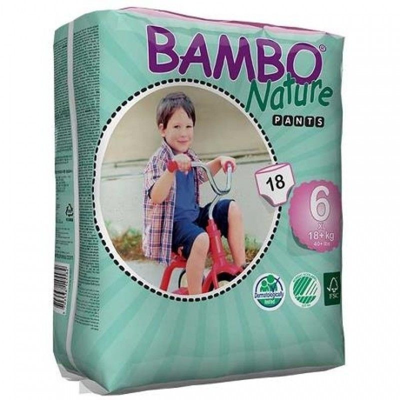 Bambo nature Pull up 18 + kg