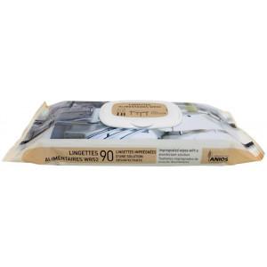 Lingettes alimentaires WR52 Anios 90 pièces