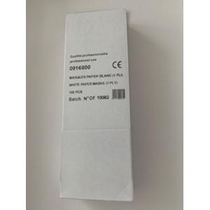 Masque hygiène papier 1 pli...